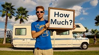 The Total Cost of Our Affordable Off Grid RV Renovations
