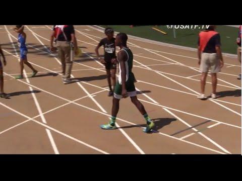 Thomas Williams II breaks Junior Olympics Record in 200m (23.34) (11&12Yr)  - USATF 2016