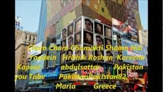Cham Cham Chamakti Shaam Hai   Yaadein   Hrithik Roshan  Kareena Kapoor