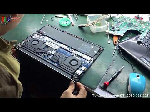 Nâng Cấp Màn Hình 4K Cho Laptop Dell XPS 9550