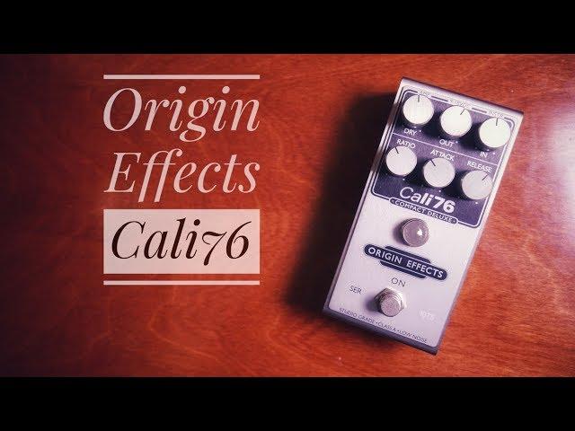 Origin Effects Cali76 Compact Deluxe - Demo by Martin Klaja