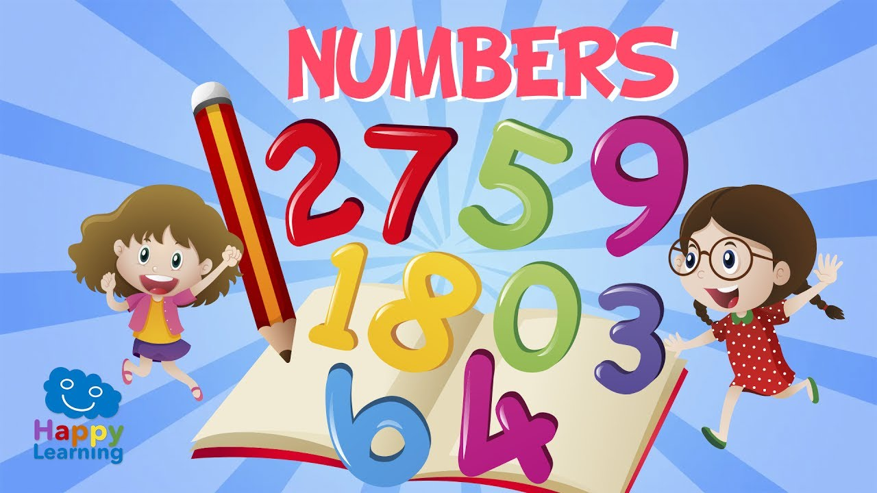 Numbers Canciones Para Aprender Inglés Youtube