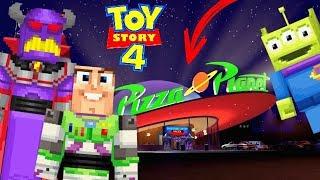 ESCONDE-ESCONDE NO PIZZA PLANET DO TOY STORY 4 !! COM O ZURG, BUZZ LIGHTYEAR E O ET -  HIDE AND SEEK