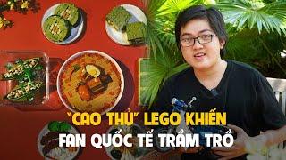'Cao thủ' xếp hình thu cả Sài Gòn thành Lego khiến fan quốc tế trầm trồ