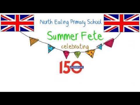 SUMMER FETE At North Ealing Primary School
