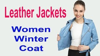 Lady Bomber Motorcycle Cool Outerwear Coat || Best Winter Women Jacket 2018 ||
