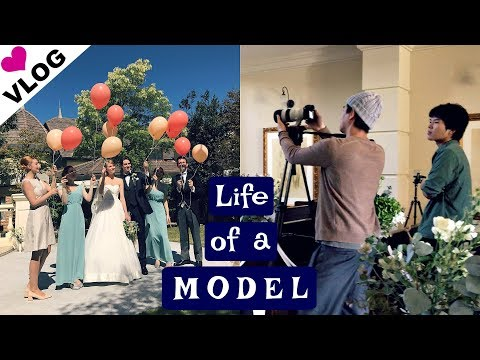 MODEL VLOG: Shooting a Bridal Campaign in Gifu, Japan