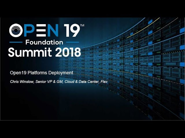 Open19 Platforms Deployment