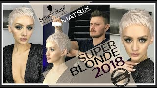 SUPER BLONDE 2018 (MATRIX  Color Sync  & Schwarzkopf Professional  BLOND ME )