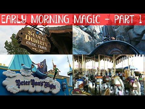 EARLY MORNING MAGIC (Part 1) | Walt Disney World Vacation June 2016 Day 4, Part 1