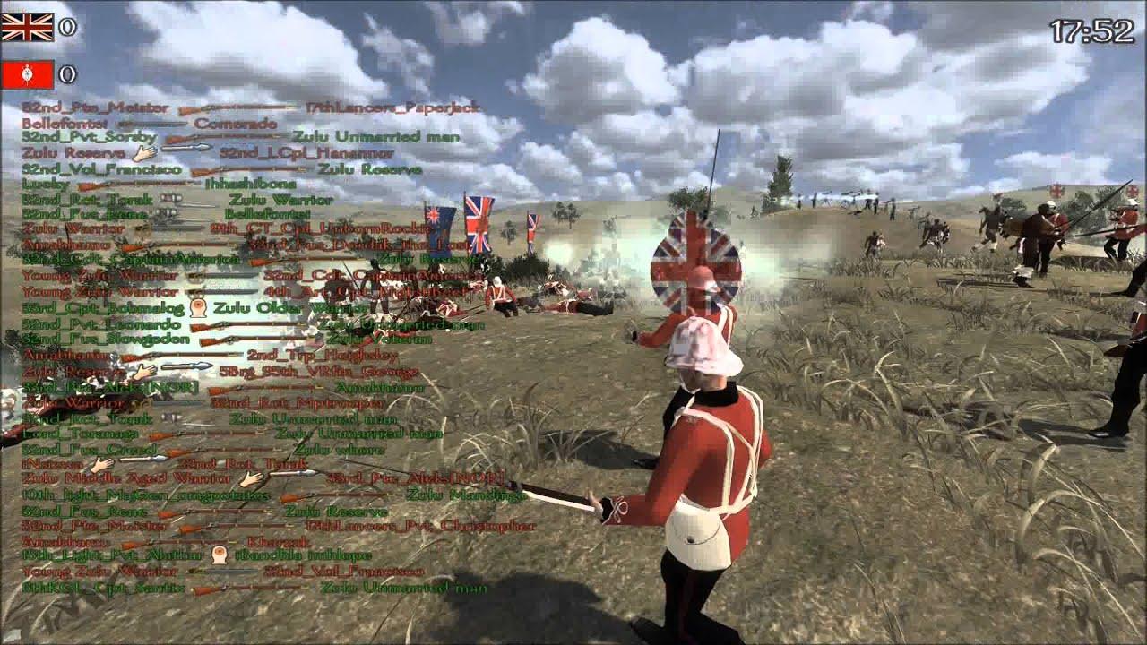 Anglo Zulu War Mod Gameplay Youtube