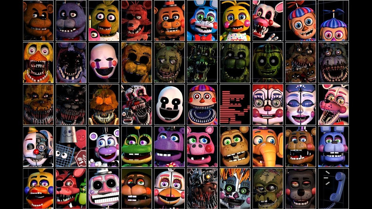 Five Nights At Freddy S 7 Ultimate Custom Night La Storia Completa Youtube