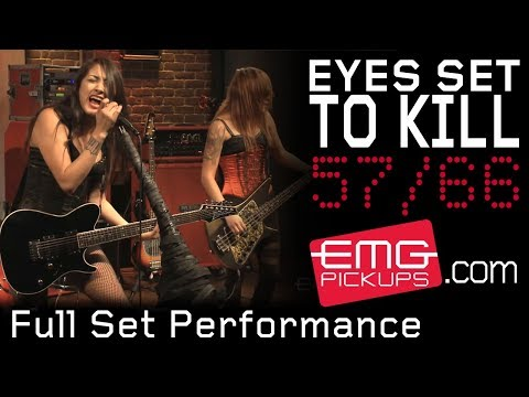 """""""Eyes Set to Kill"""" plays an entire set live for EMGtv"""