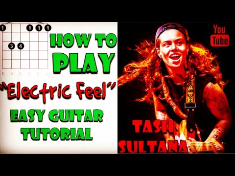 Electric Feel Tash Sultana Easy Guitar Tutorial Like A Version How To Play