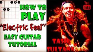 Gambar cover Electric Feel - Tash Sultana - Easy Guitar Tutorial - Like A Version - How to Play - Guitar Tutorial
