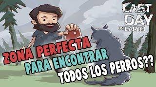 ZONA PERFECTA PARA ENCONTRAR TODOS LOS PERROS?? LAST DAY ON EARTH!!