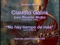 """No hay tiempo de más - Claudio Gabis (con Ricardo Mollo) - """"Convocatoria"""" (1995) - vog.009"""