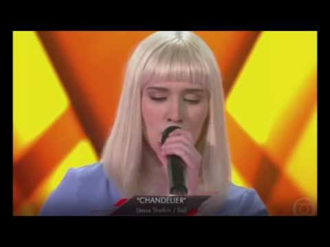 Gabriela Ferreira canta \'Chandelier\' - The Voice Brasil 27/10 ...
