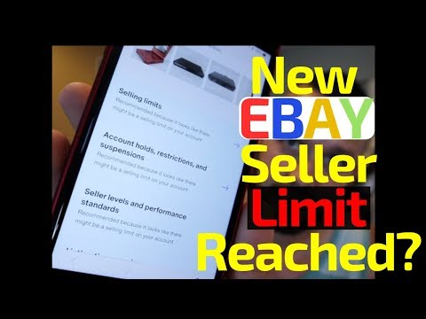 How To Increase Your Ebay Listing Limits Youtube