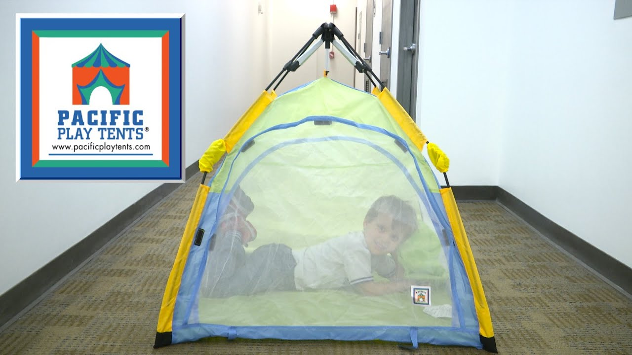 & One Touch Lilu0027 Nursery from Pacific Play Tents - YouTube