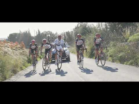 Midley of action UAE Team Emirates top riders