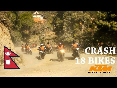 MARKHU Kulekhani Ride  Drone shots  KTM Bikers Meetup   NEPAL 