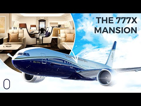 A Flying Mansion: The Boeing 777X Business Jet