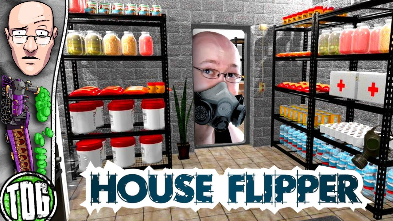I'm renovating Apocalypse Bunkers now... - House Flipper [ToG]