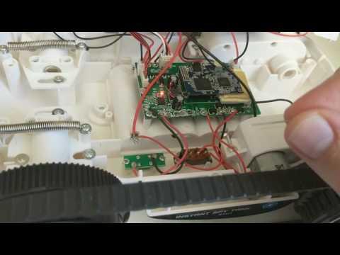 Wifi Spy Tank - Reset to factory defaults