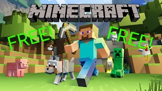 (2017) How To Download Minecraft PC for FREE! Windows 7, 8, and 10!