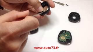 Remplacer coque télécommande Renault Clio Laguna  Mégane Scénic Trafic
