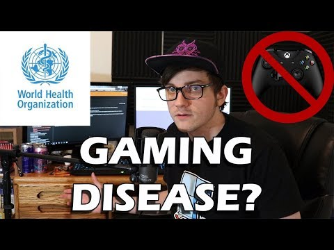 Gaming Disorder Now Classified as a Disease by the World Health Organization