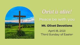 Devotions Easter3 2021April18