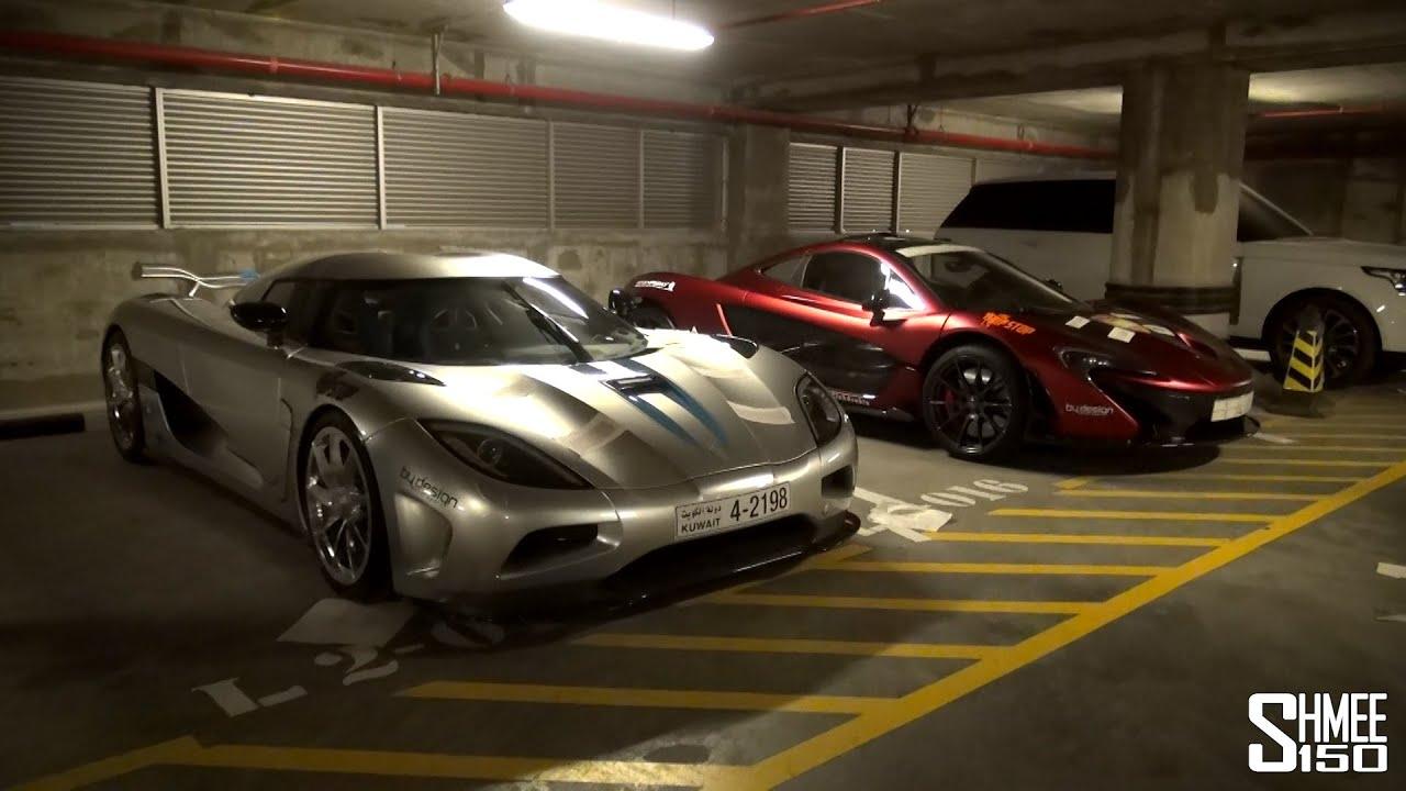 Desert Run Garage Tour Mclaren Agera Many Supercars Youtube