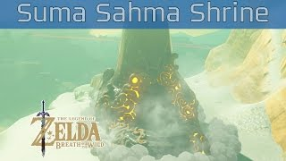 The Legend of Zelda: Breath of the Wild - Suma Sahma Shrine Walkthrough [HD 1080P]