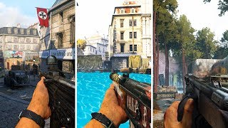 THE NEW COD WW2 MAPS (YES, You Can Swim!)