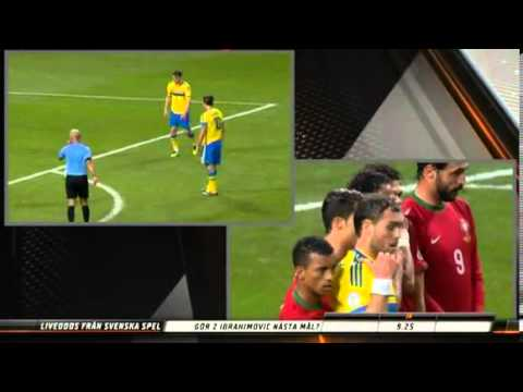 Cristiano Ronaldo VS Ibrahimovic - Sweden 2-3 Portugal