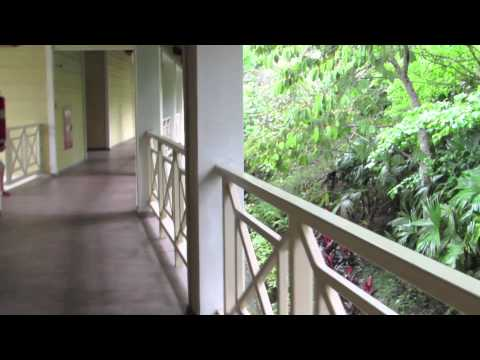 Panama Day 3: Walking to Our Room at the Gamboa Rainforest Resort