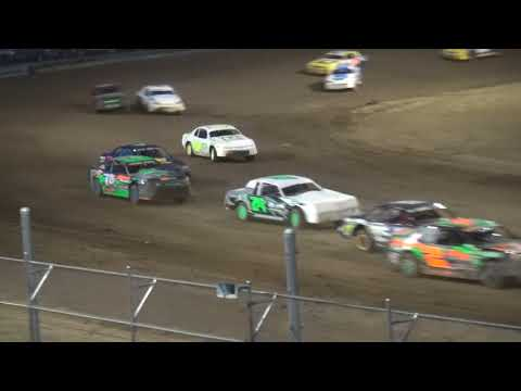 IMCA Stock Car feature Independence Motor Speedway 4/28/18