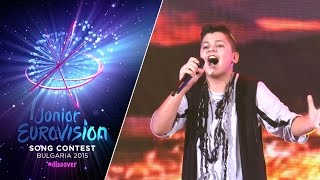 Junior Eurovision Song Contest 2015: Ruslan Aslanov (Belarus) First rehearsal