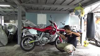 ホンダXR250参考動画:このオフロードバイクとは一体何なのか?