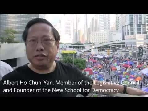 Hong Kong Democratic Leader's Message to International Community