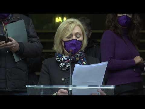 Ourense súmase o Día Internacional contra a violencia de xénero