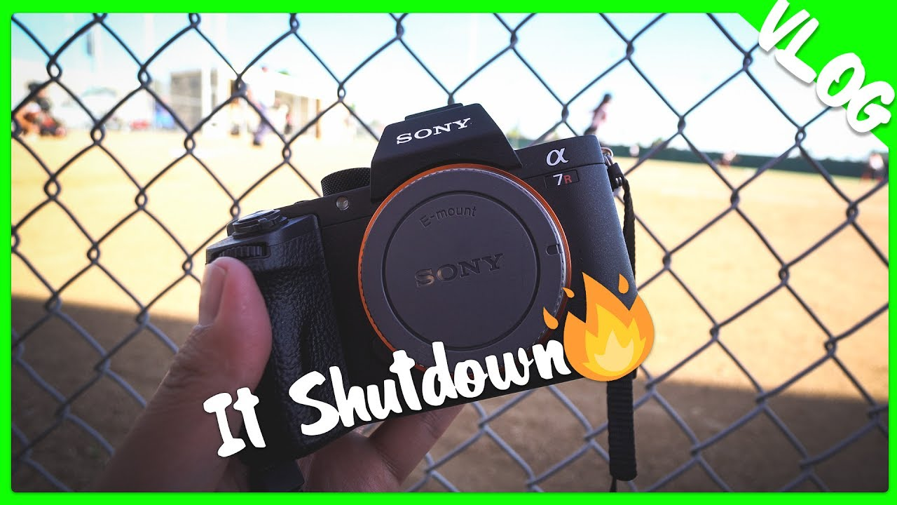 My Sony a7Rii Overheated🔥   I Missed a Home Run (Sony FE 2X Review