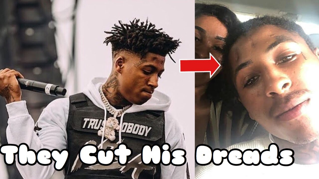 NBA Youngboy Dreads Are Gone - YouTube