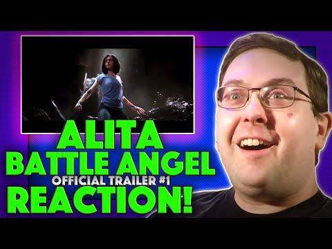 REACTION! Alita: Battle Angel  1  Robert Rodriguez SciFi Movie 2018