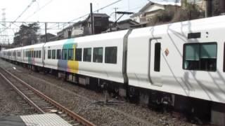 特急あずさ16号新宿行E257系西国分寺駅通過