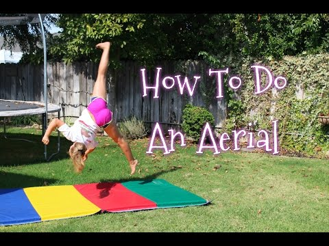 How To Do An Aerial (no hand cartwheel)