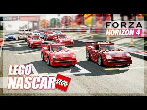Forza Horizon 4 - LEGO NASCAR! (New Expansion Online)