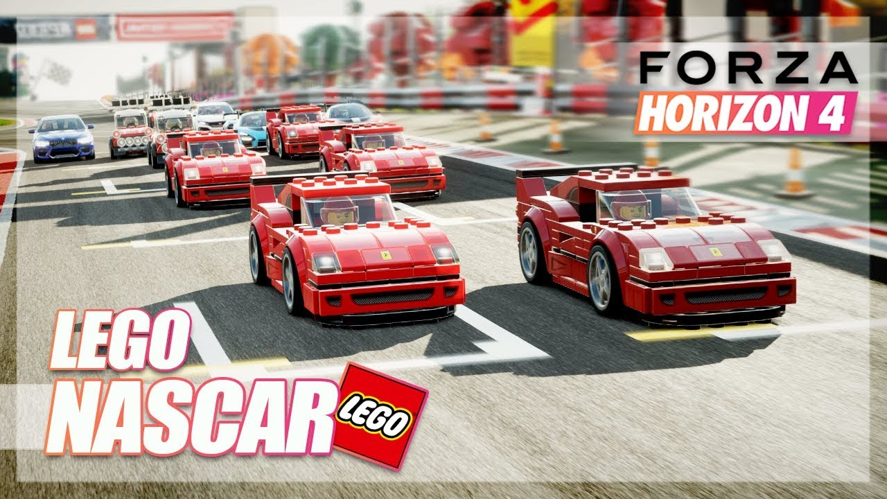 Forza Horizon 4 – LEGO NASCAR! (New Expansion Online